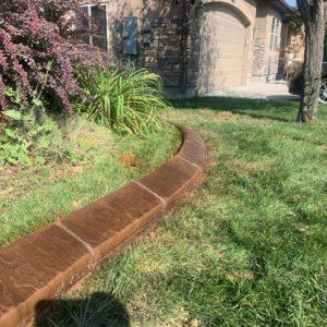 Concrete Landscape Curbing Wilmington Concrete Services